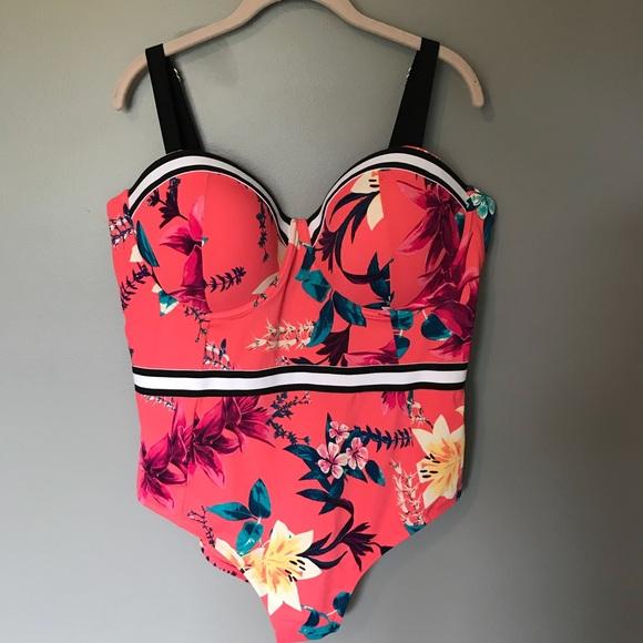 50c798f51b4 NWT Boutique Plus Size swimsuit sizes 1X 3X
